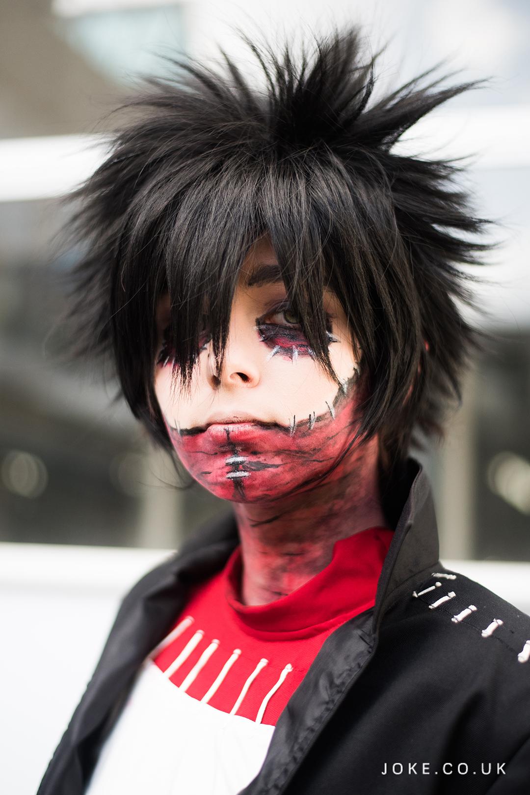 Khama as Dabi from Boku No Hero Academia at London Anime & Gaming Con