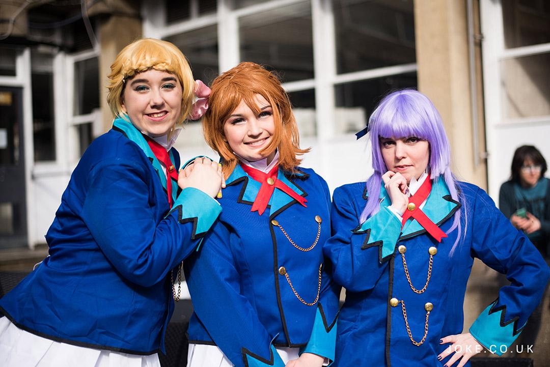 Kiwiusagi, Idolsaur and Fluffy Cactus Cosplay as the Idols from Starlight Academy