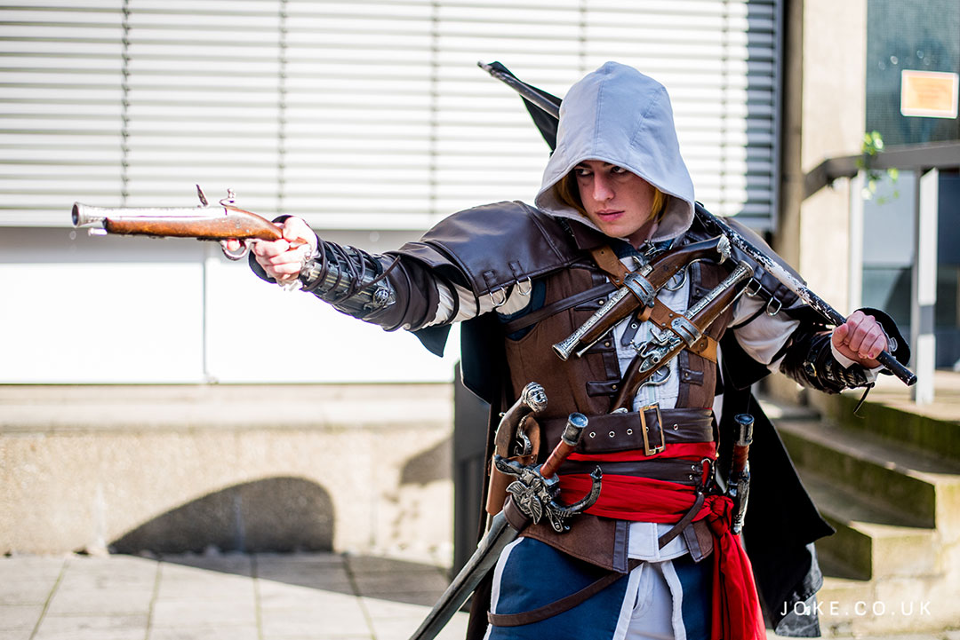 PJR Cosplay as Edward Kenway from Assassin's Creed: Black Flag